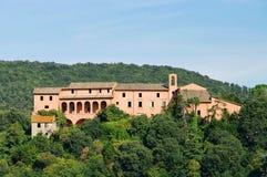 Corbara Castello royalty-vrije stock foto