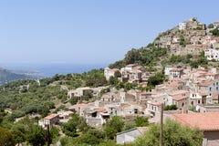Corbara, Corsica Fotografia Stock