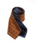 Corbata anaranjada del cubo Fotos de archivo libres de regalías