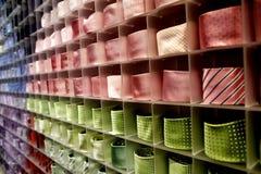Corbata colorida Imágenes de archivo libres de regalías