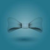 Corbata de lazo atractiva del vector 3d halftone Fotografía de archivo