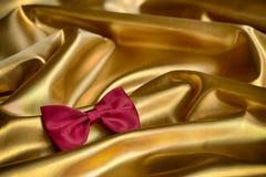 Corbata de lazo roja Imagen de archivo