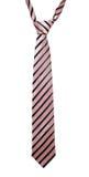 Corbata rayada Imagenes de archivo