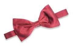 Corbata roja Foto de archivo libre de regalías