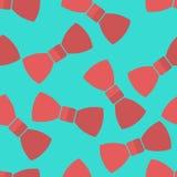 Corbatas de lazo del modelo del vector Foto de archivo libre de regalías