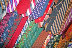 Corbatas a montones Foto de archivo