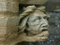 corbel of hood mould royalty free stock image