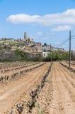 Corbera de Ebro village at Tarragona, Spain Stock Images
