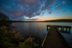 Corbet Lough, Co.Down, N.Ireland Royalty Free Stock Images