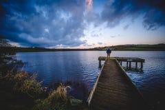 Corbet Lough, Co Ner N ireland royaltyfri fotografi