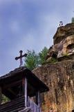 Corbi修道院 库存图片