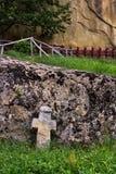 Corbi修道院 库存照片
