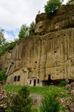 Travel Romania: Corbii Piatra Mountain Monastery Royalty Free Stock Photo