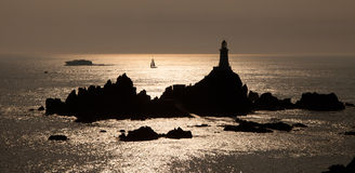Corbiere Lighthouse Royalty Free Stock Photo