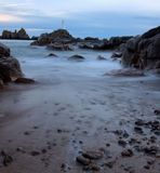 Corbiere Lighthouse Stock Photo