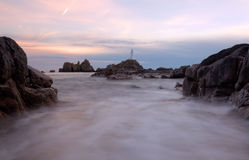 Corbiere Lighthouse Stock Image
