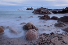 Corbiere Lighthouse Stock Images