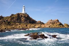 Corbiere Lighthouse in c Royalty Free Stock Image
