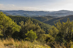 Corbieres berg, Frankrike royaltyfri foto