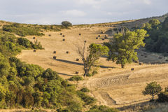 Corbieres Mountains, France royalty free stock photography