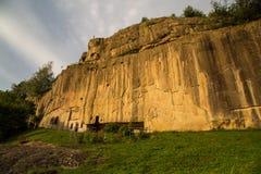 corbii de monastery piatra Στοκ Εικόνες