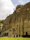 Corbii DE Piatra klooster Royalty-vrije Stock Afbeeldingen