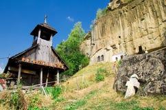 Corbii de Piatra Monastery Stock Image