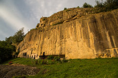 Corbii de Piatra Monastery Stock Images
