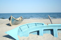 corbu plażowy wrak Zdjęcie Royalty Free