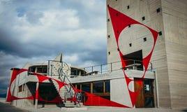 Corbusier taköverkant Royaltyfri Bild