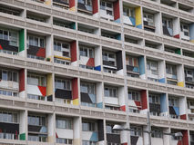 Corbusierhaus Berlín imagenes de archivo