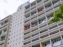 Corbusierhaus Berlijn stock afbeelding