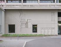 Corbusierhaus Berlijn stock foto's