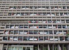 Corbusierhaus Berlin royaltyfri fotografi