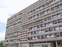 Corbusierhaus Berlino fotografia stock