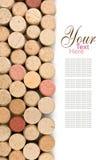 corc κρασί Στοκ Εικόνες