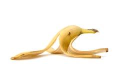 Écorce de banane Photographie stock libre de droits