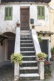 Corchiano (Italy). Corchiano (Viterbo, Lazio, Italy): medieval town, a typical house Stock Photo