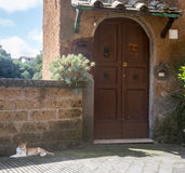Corchiano (Włochy) Obrazy Royalty Free