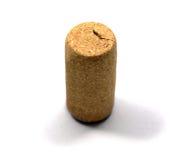 Corcho de la botella de vino rojo fotografía de archivo