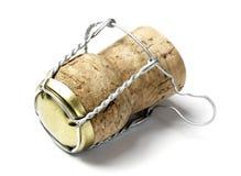 corcho del champán Fotografía de archivo libre de regalías