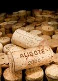 Corcho del vino Fotografía de archivo