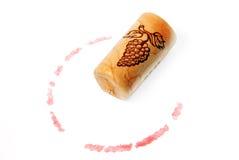 Corcho del vino Imagenes de archivo