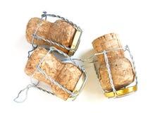 Corchos de Champán fotos de archivo libres de regalías