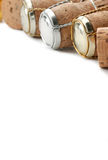 Corchos de Champán Fotografía de archivo libre de regalías