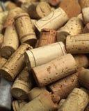 Corchos del vino Foto de archivo libre de regalías