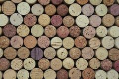 Corchos del vino Fotos de archivo libres de regalías