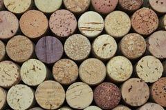 Corchos del vino Imagenes de archivo