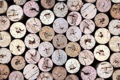 Corchos viejos del vino Imagenes de archivo