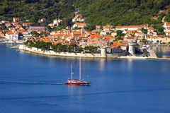 Corchula old city, Croatia Royalty Free Stock Photos